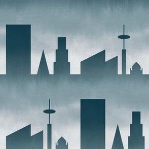 06464242 © city : stormy skyline