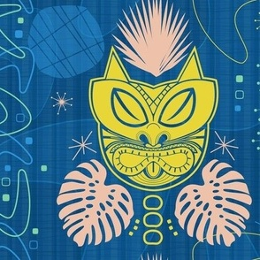 Retro Tiki Cat