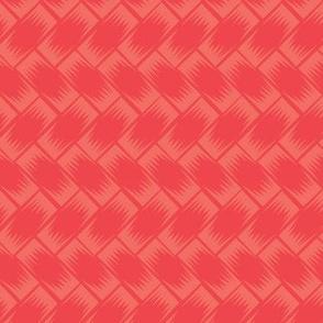Kitsch Tiki - Stone Gods Weave - Red