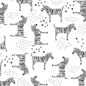 Abstract Zebras