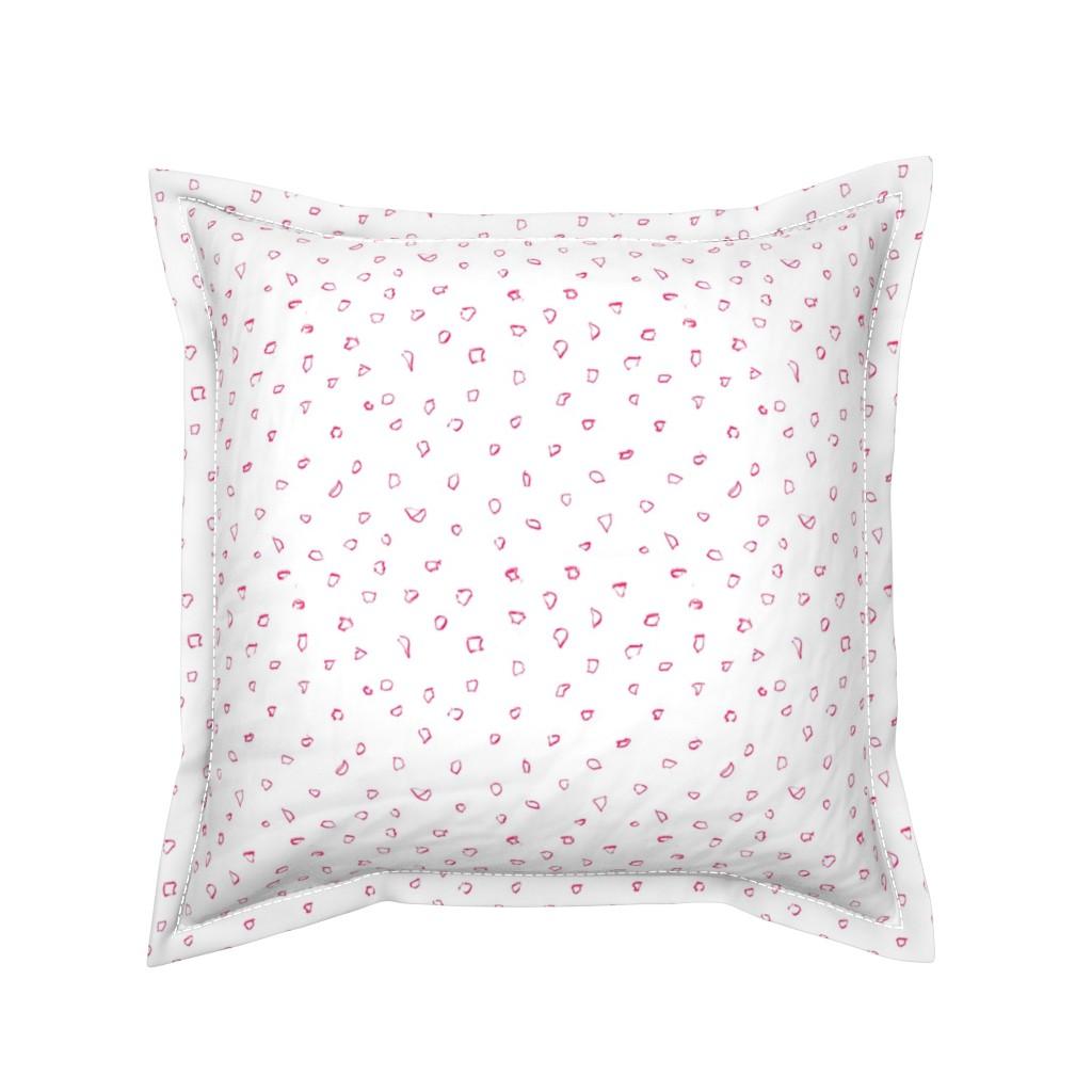Serama Throw Pillow featuring Italian Village Black White by dorothyfaganartist