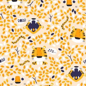 Roarr - wild orange tiger