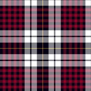 "Little clan dress tartan, 12"""