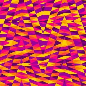 patchwork arrow - bright India