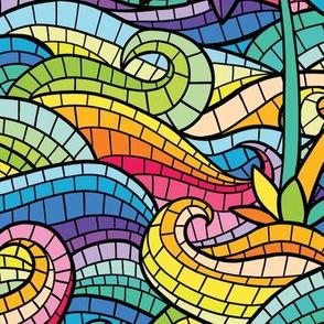 Hawaii mosaic black