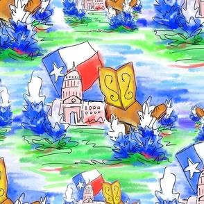Deep in the heart of Texas (clap clap clap clap)