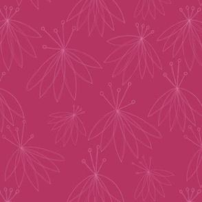 Lilly_flower_wallpaper_White_outline_bright