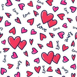 Hearts n' Hearts Doodle