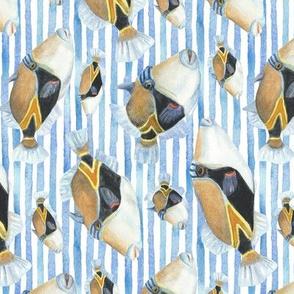 humu stripe (white) - vertical