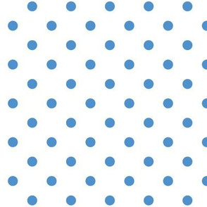 Blue Polka Dots Dotted