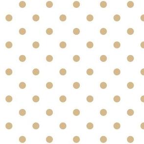 Tan Dotted Polka Dots