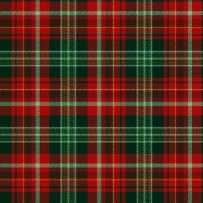 "New Brunswick official tartan, 6"" dark"
