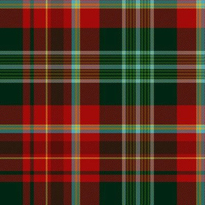 "New Brunswick official tartan, 12"" dark"