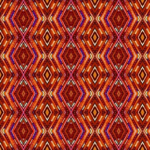 Tribal Diamonds - Russet