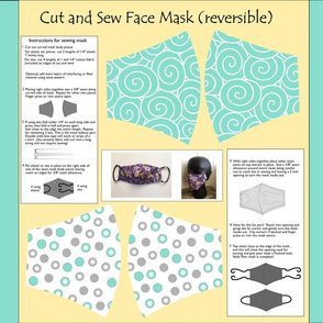 Cut and sew face mask