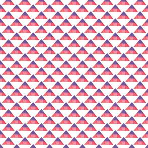Mixed Media Triangles
