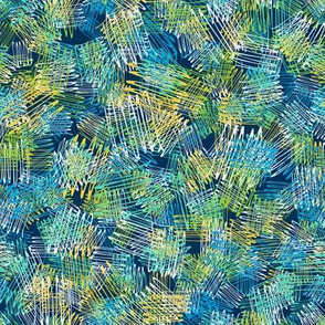 Abstract pattern with colorful freehand lines modern pattern