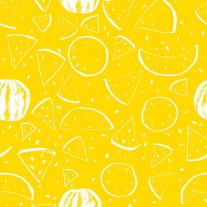 Cheerful Melon Yellow
