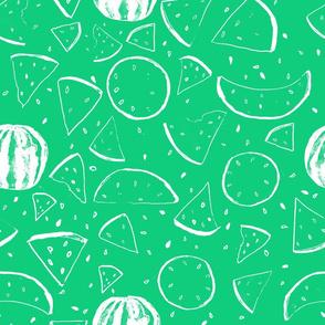 Cheerful Melon Green