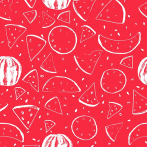 Cheerful Melon Red