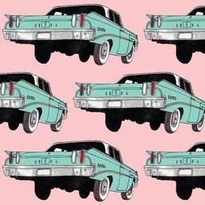 1960 Edsel Ranger pink and blue