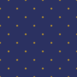 Medieval Stars ~ Gold on Musketeer
