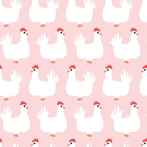 Simple Chicken   Pink