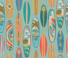 Rainbow Surfin
