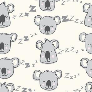 sleepy koalas