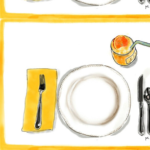 Lemon Placemat
