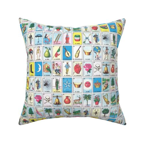 Mexican Lottery Loteria Pillow Sham by Roostery