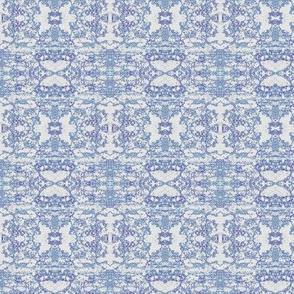 Faded Delft Blue