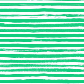Painted Stripes Green