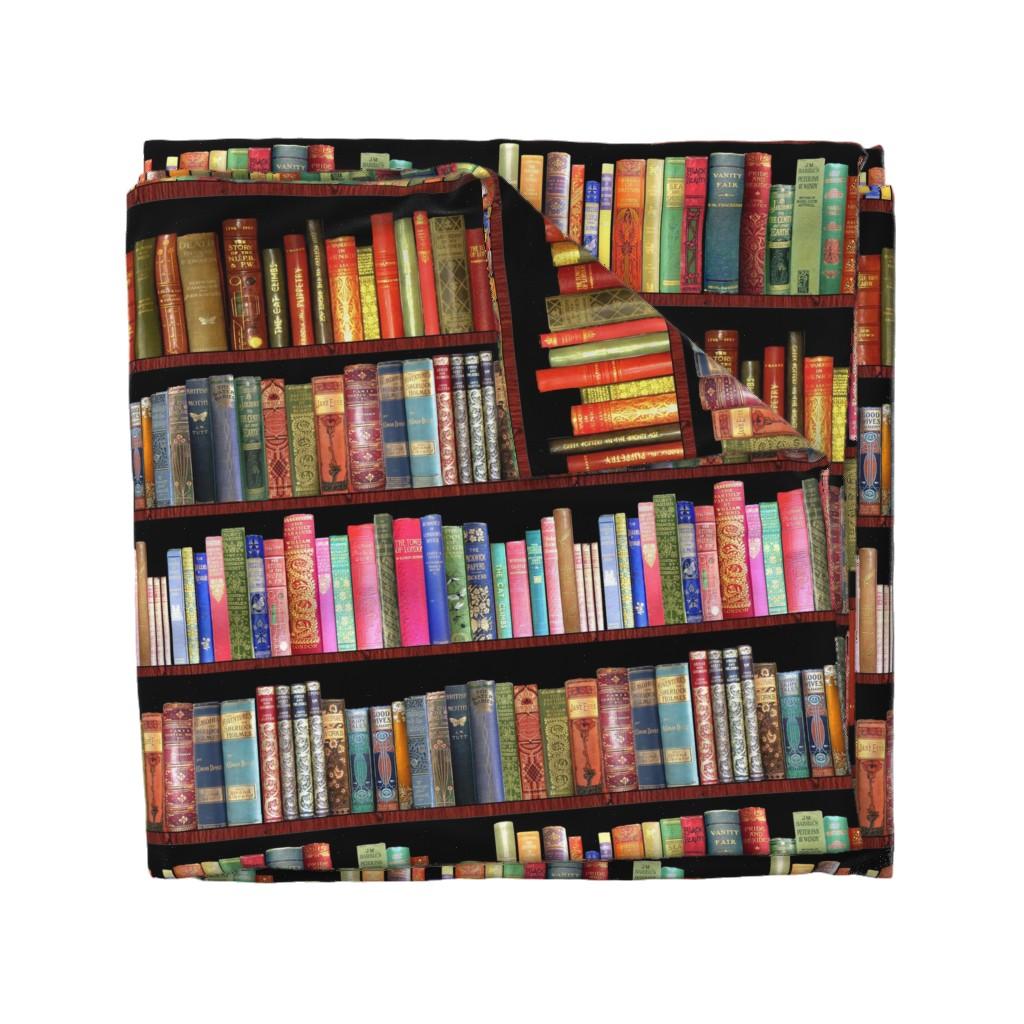 Wyandotte Duvet Cover featuring Antique books/ Jane Austen & more  by magentarosedesigns