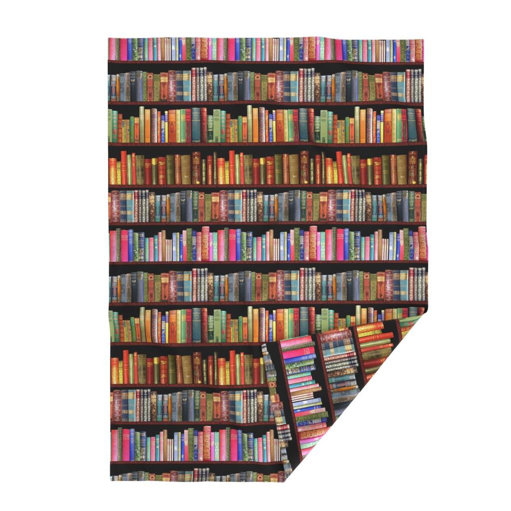 Lakenvelder Throw Blanket featuring Antique books/ Jane Austen & more  by magentarosedesigns