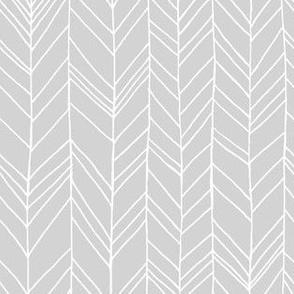 Featherland Pale Gray/White