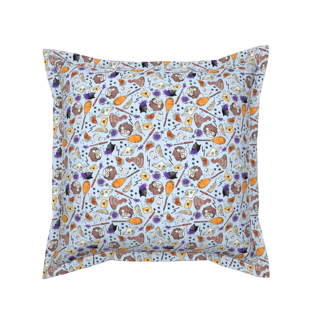 Serama Throw Pillow featuring Magician Essentials by helloquirkydesign