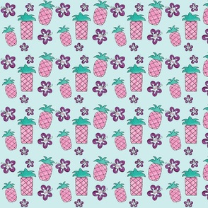 pineapple_hibiscus_mod_ink_pink_purple