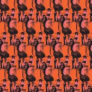 Beardsley: Orange and Pink