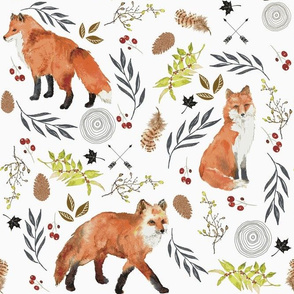 """FOX FOREST 6"""""""