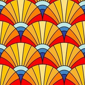 06502526 : scalefan : circus headdress