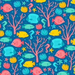 Coral Reef Crew (Jewel)