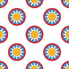 06504548 : sunshine circus ring polkadot