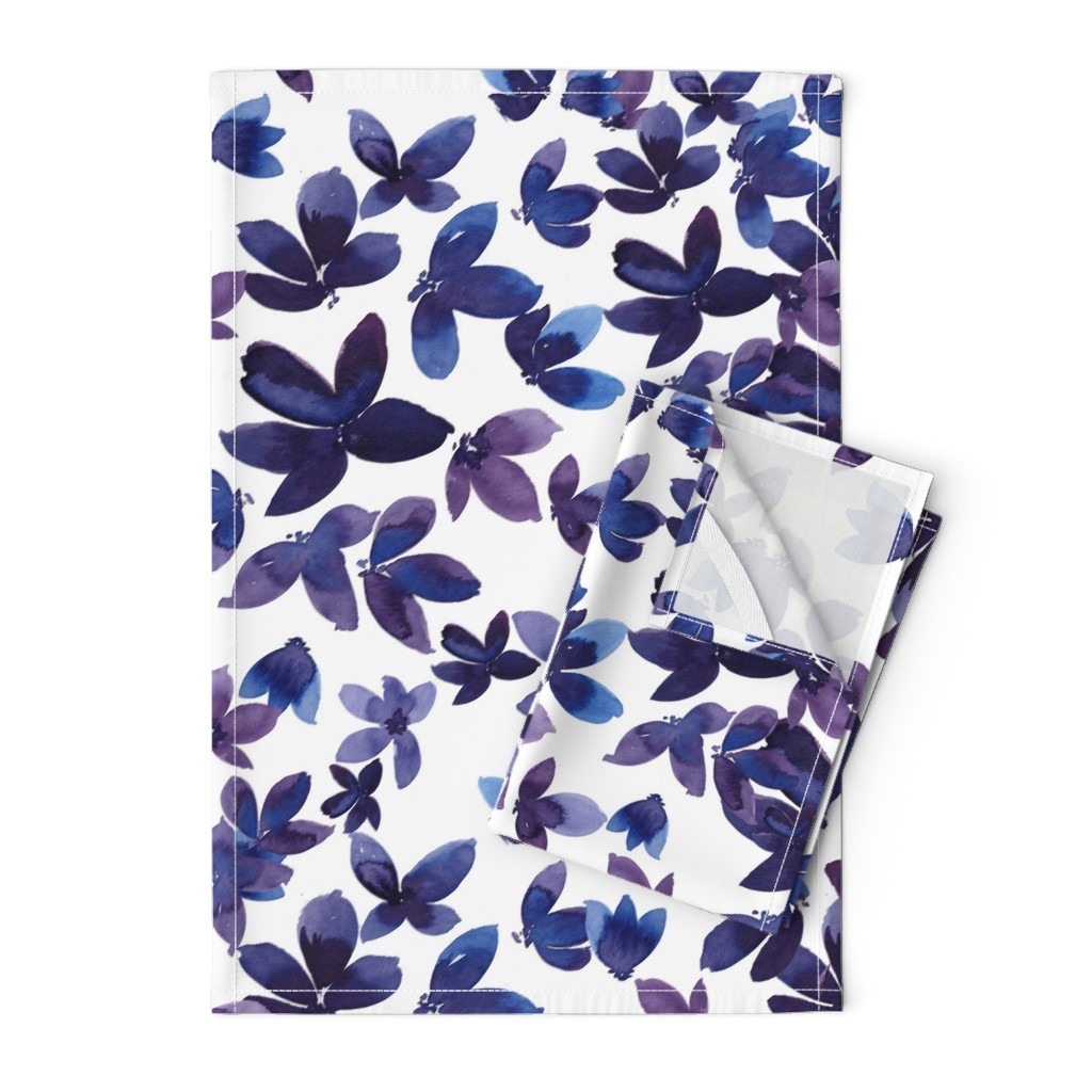 Orpington Tea Towels featuring born to butterfly by rosemaryanndesigns