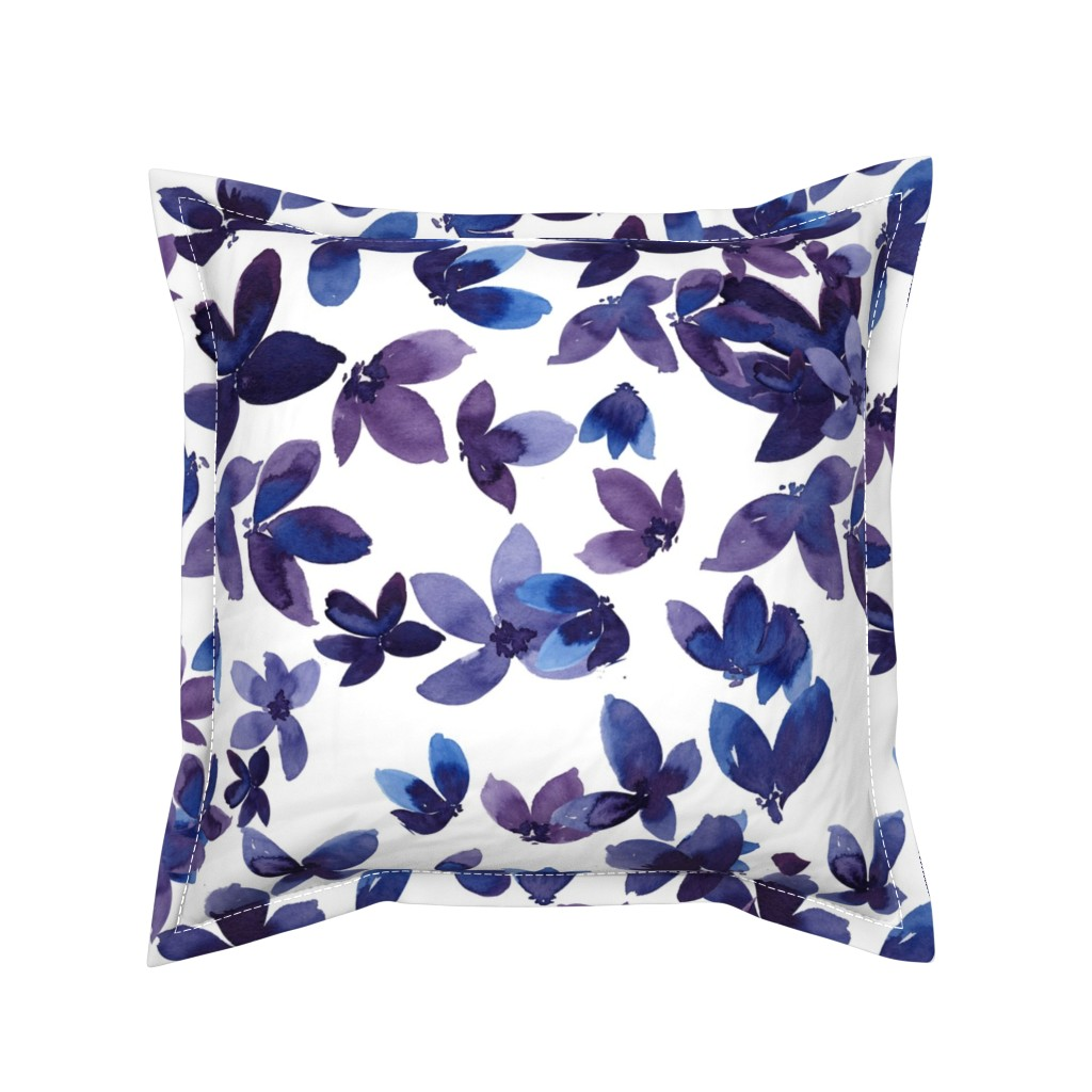 Serama Throw Pillow featuring born to butterfly by rosemaryanndesigns