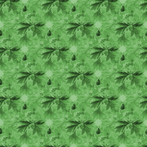 Bleeding_heart_bunch_leaves_seamless_tile_colorized_green_