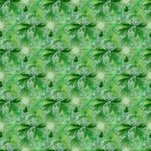 Bleeding_heart_bunch_leaves_seamless_tile_green_back_