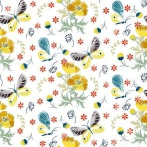 Butterflies and Botanicals