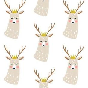 Golden Crown Deer