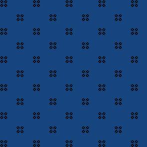 Kenya Cross - Blue
